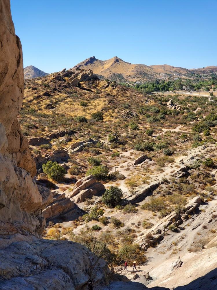 The land of Vasquez Rocks Park