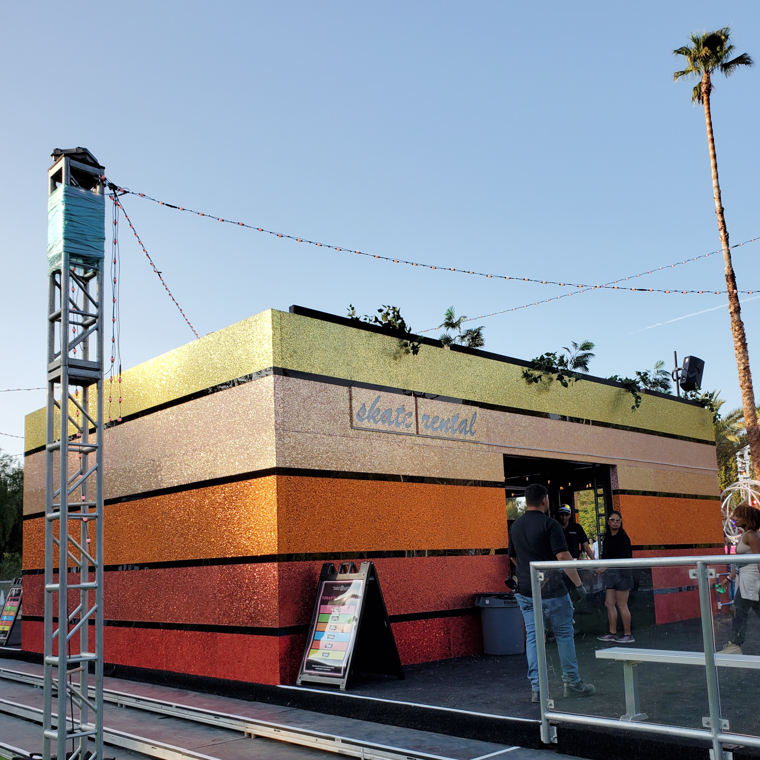 The colorful place to pick up your skates at DiscOasis